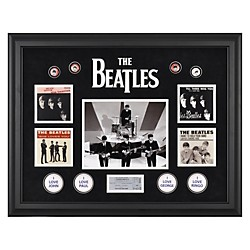 "Mounted Memories The Beatles ""On The Ed Sullivan Show"" Framed Presentation (FRCEBEA712)"