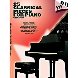 Music Sales 25 Classical Pieces For Piano Graded - Dip In Series (14042031)