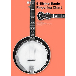 Music Sales 5-String Banjo Fingering Chart (14042872)