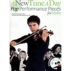 Music Sales A New Tune A Day - Pop Performance Pieces for Violin Book/CD (14041711)