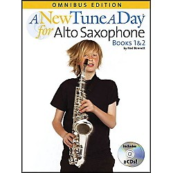 Music Sales A New Tune A Day Alto Sax Omnibus Book & 2 CD'S (14022733)