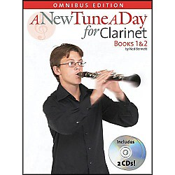 Music Sales A New Tune A Day Clarinet Omnibus Book 1&2 Book/2CD's (14022740)