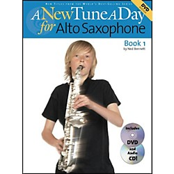 Music Sales A New Tune A Day For Alto Saxophone Book 1 Book/CD/DVD (14022731)