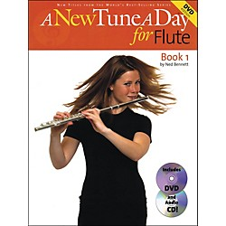 Music Sales A New Tune A Day For Flute Book 1 With Audio CD And DVD (14022744)