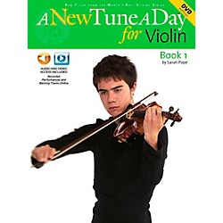 Music Sales A New Tune A Day For Violin Book 1 CD And DVD (14022770)
