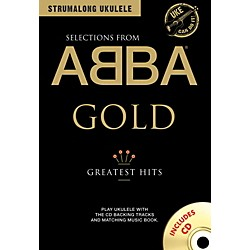 Music Sales ABBA Gold - Greatest Hits from Strum Along Ukulele Series Book/CD (14042135)