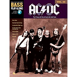 Music Sales AC/DC - Bass Play-Along Volume 40 (Book/CD) (14041594)