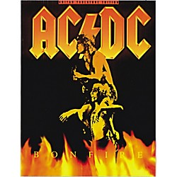 Music Sales AC/DC Bonfire Guitar Tab Songbook (14001046)