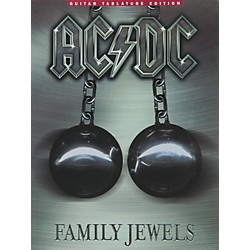 Music Sales AC/DC Family Jewels Guitar Tab Songbook (14001049)
