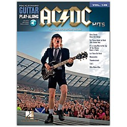 Music Sales AC/DC Hits Guitar Play-Along Volume 149 Book/CD (14041593)