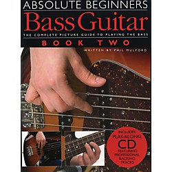 Music Sales Absolute Beginner's Bass Volume 2 (Book/CD) (14037406)