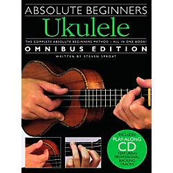Music Sales Absolute Beginners Ukulele - Books 1 & 2 With CD (14037619)