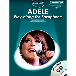 Music Sales Adele Play-Along For Alto Sax Book/CD (102567)