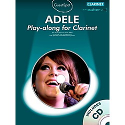 Music Sales Adele Play-Along For Clarinet Book/CD (102566)