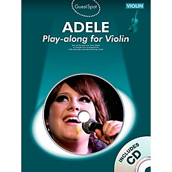 Music Sales Adele Play-Along For Violin Book/CD (14041914)