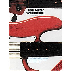 Music Sales Bass Guitar Scale Manual Book (14003572)