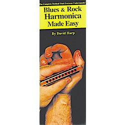 Music Sales Blues and Rock Harmonica Made Easy Compact Reference Book (14004667)