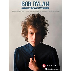 Music Sales Bob Dylan For Easy Piano (14041363)