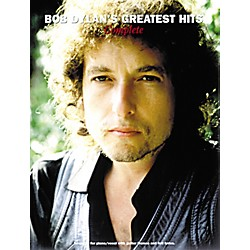 Music Sales Bob Dylan's Greatest Hits: Complete (14004783)