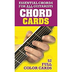 Music Sales Chord Cards - Essential Chords for All Guitarists 52 Full Color Cards (14006669)