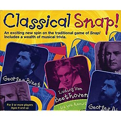 Music Sales Classical Snap!  Trivia Card Game (14007005)