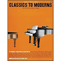 Music Sales Classics to Moderns - Intermediate Grades By Denes Agay (14016140)
