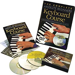 Music Sales Complete Absolute Beginners Keyboard Couse (Book/CD/DVD) (14007218)