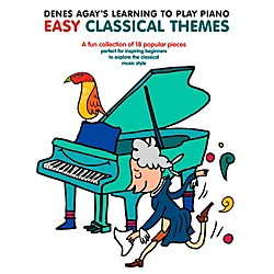 Music Sales Denes Agay's Learning To Play Piano - Easy Classical Themes (14042030)