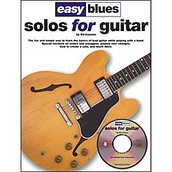 Music Sales Easy Blues Solos For Guitar Book/CD (14009828)