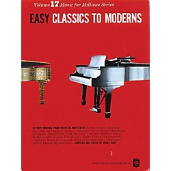 Music Sales Easy Classics To Moderns 142 Piano Pieces (14009841)