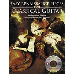 Music Sales Easy Renaissance Pieces For Classical Guitar (Book/CD) (14037750)