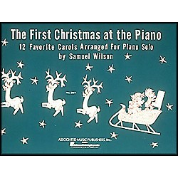 Music Sales First Christmas At The Piano By Wilson (50005760)