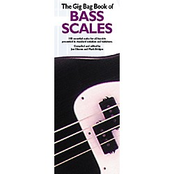 Music Sales Gig Bag Book of Bass Scales (14003577)
