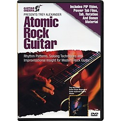 Music Sales Guitar Sherpa Presents Trey Alexander: Atomic Rock Guitar (DVD) (14001604)