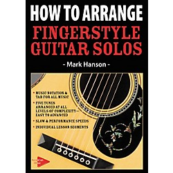 Music Sales How To Arrange Fingerstyle Guitar Solos (DVD) (14041337)