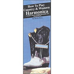 Music Sales How to Play Country and Western Harmonica (Book) (14015466)
