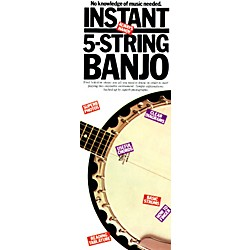 Music Sales INSTANT 5 STRING BANJO (14016101)