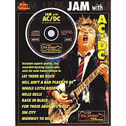Music Sales Jam with AC/DC Guitar Tab Songbook with CD (14016869)