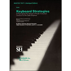 Music Sales Keyboard Strategies Vol 1 Pn Abridged Master By Stecher (50500130)