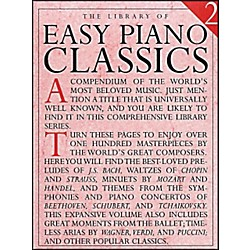 Music Sales Library Of Easy Piano Classics 2 (14019033)