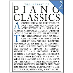 Music Sales Library Of Piano Classics 2 By Appleby (14019047)