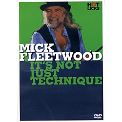 Music Sales Mick Fleetwood It's Not Just Technique Drum DVD (14041772)