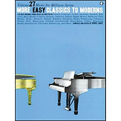 Music Sales More Easy Classics To Moderns By Denes Agay (14021843)