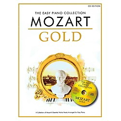 Music Sales Mozart Gold - The Easy Piano Collection Book/CD (14043047)