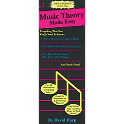 Music Sales Music Theory Made Easy Book (14022398)
