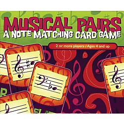 Music Sales Musical Pairs - A Note Matching Card Game (14022415)