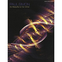 Music Sales Paul Simon - So Beautiful Or So What PVG Songbook (14041560)