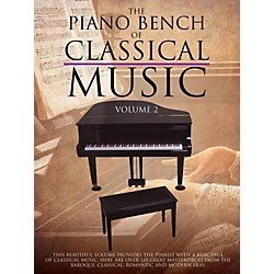 Music Sales Piano Bench Of Classical Music Vol. 2 for piano solo (14041708)
