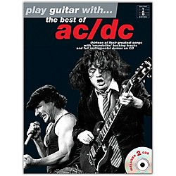 Music Sales Play Guitar With The Best Of AC/DC (Book & 2 CD's) (14037812)