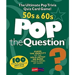 Music Sales Pop The Question 50's & 60's - The Ultimate Pop Trivia Quiz Card Game (14025863)